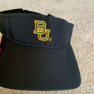 BU sun visor hat